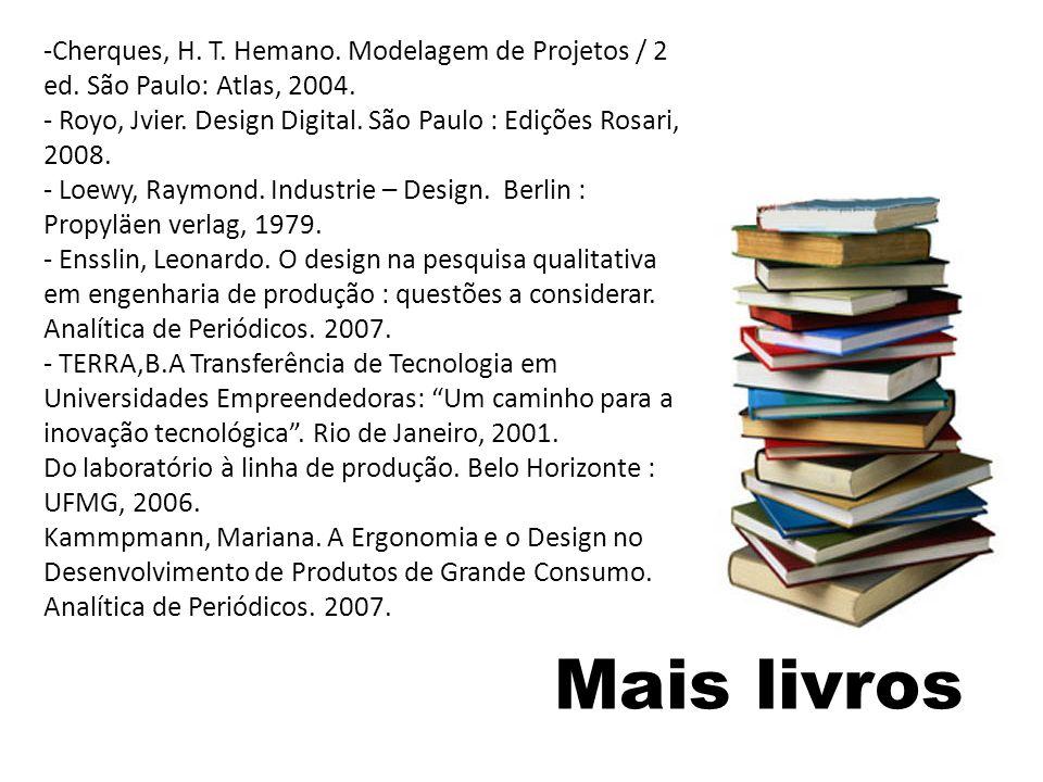 Cherques, H. T. Hemano. Modelagem de Projetos / 2 ed