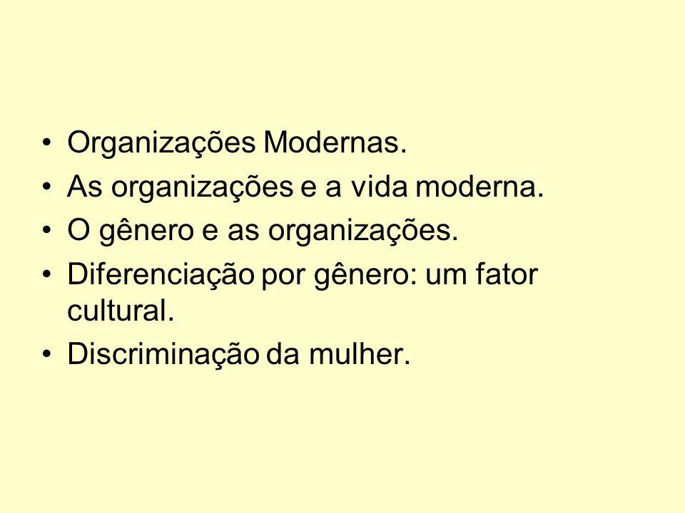 Organizações Modernas.