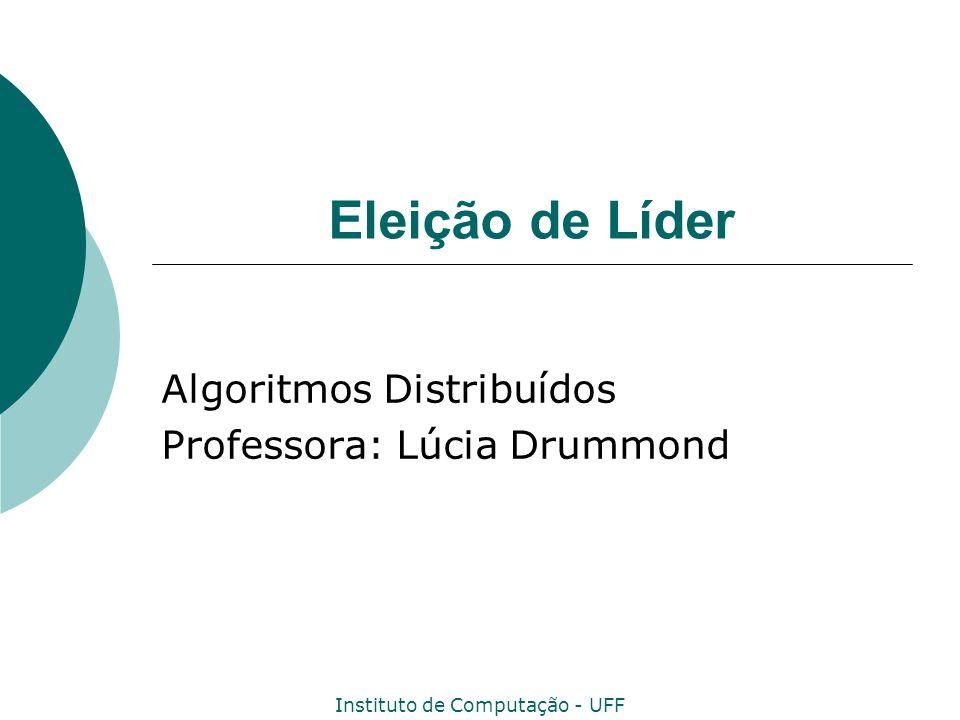 Algoritmos Distribuídos Professora: Lúcia Drummond