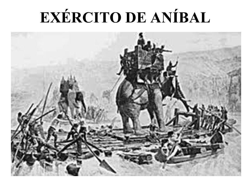 EXÉRCITO DE ANÍBAL