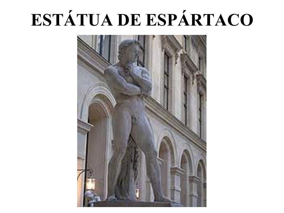 ESTÁTUA DE ESPÁRTACO