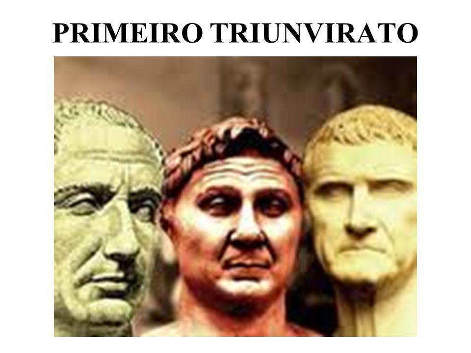 PRIMEIRO TRIUNVIRATO