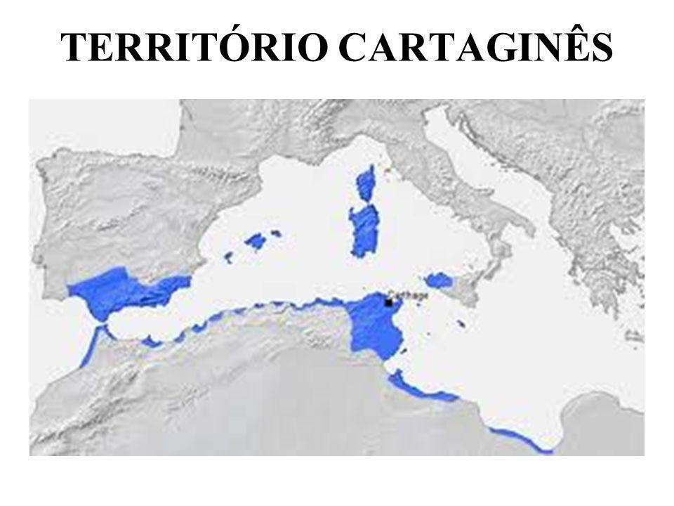 TERRITÓRIO CARTAGINÊS