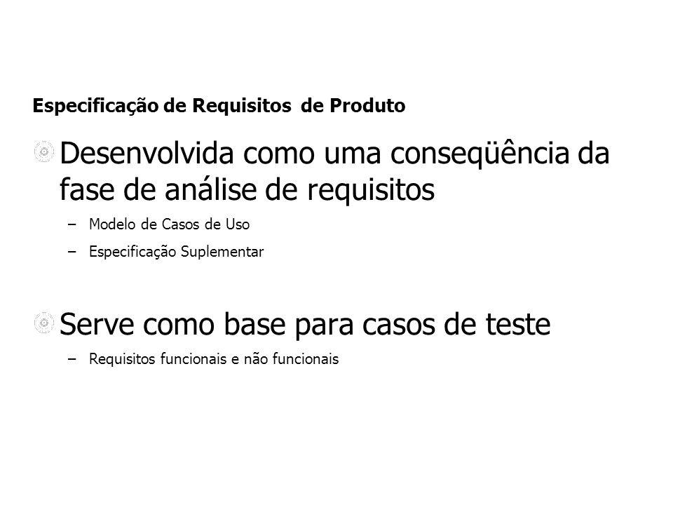 Especificação de Requisitos de Produto