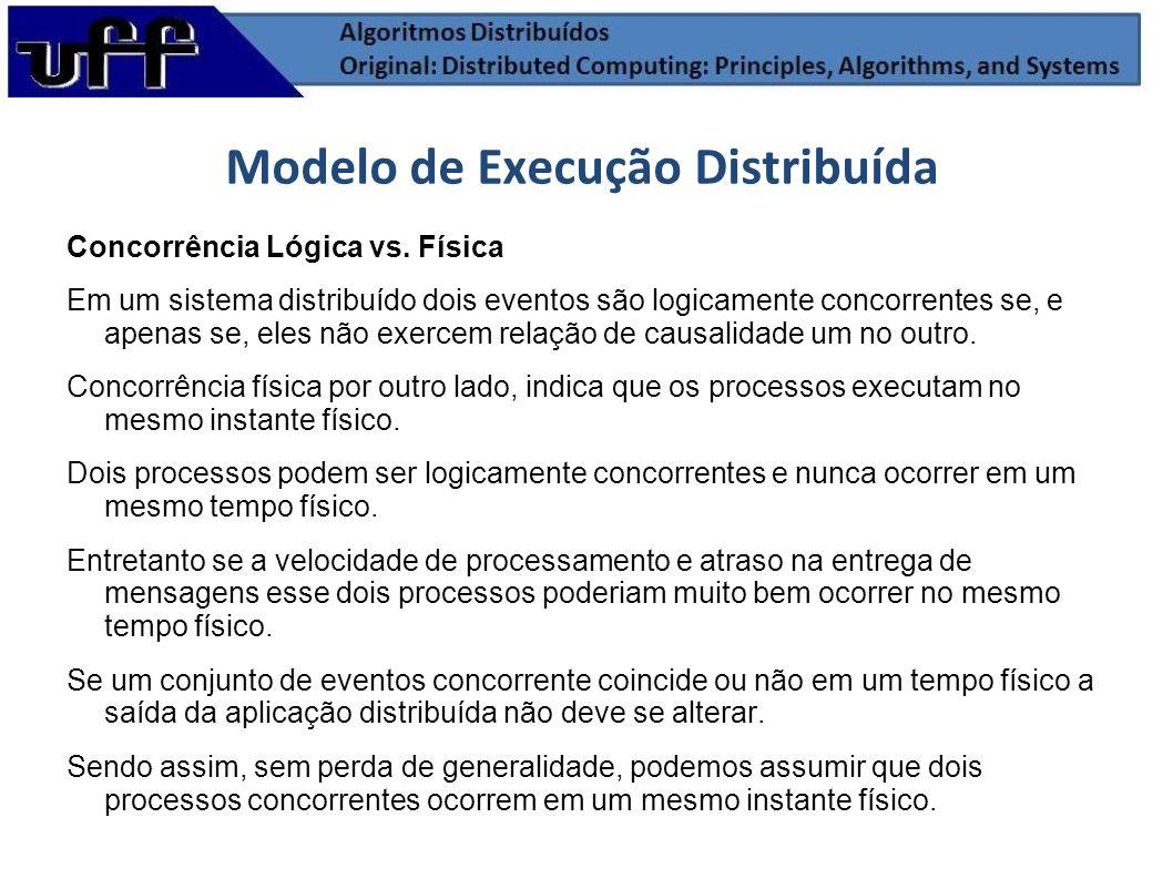 Modelo de Execução Distribuída