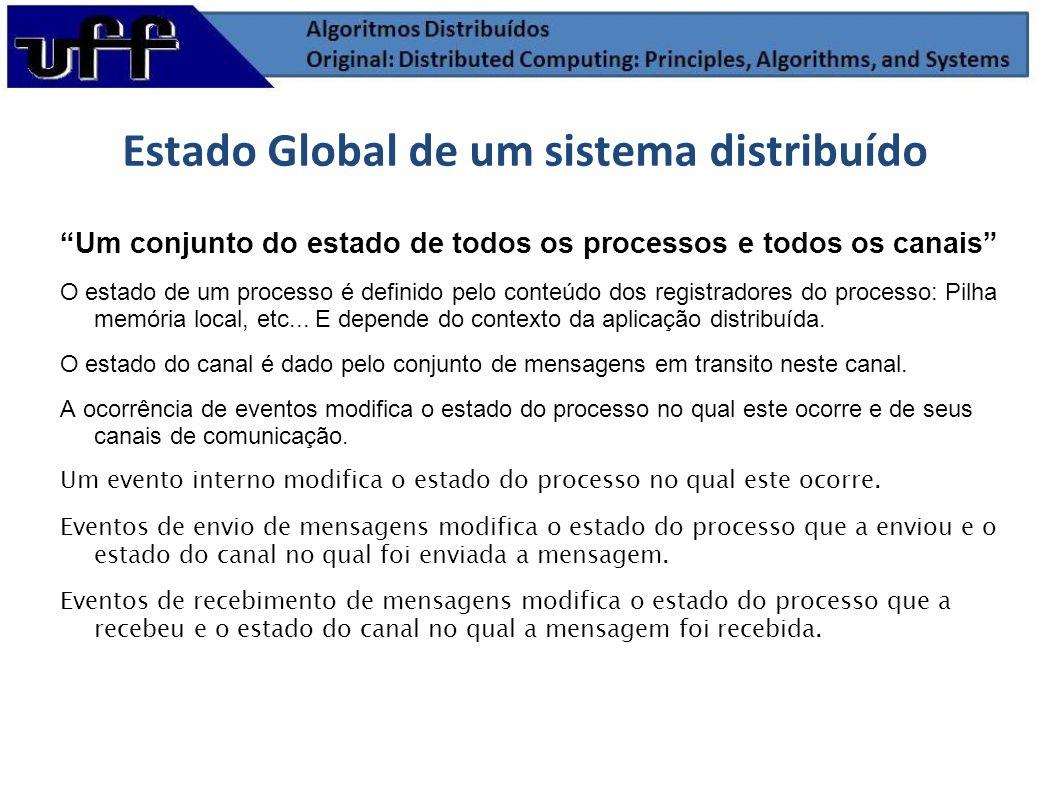 Estado Global de um sistema distribuído