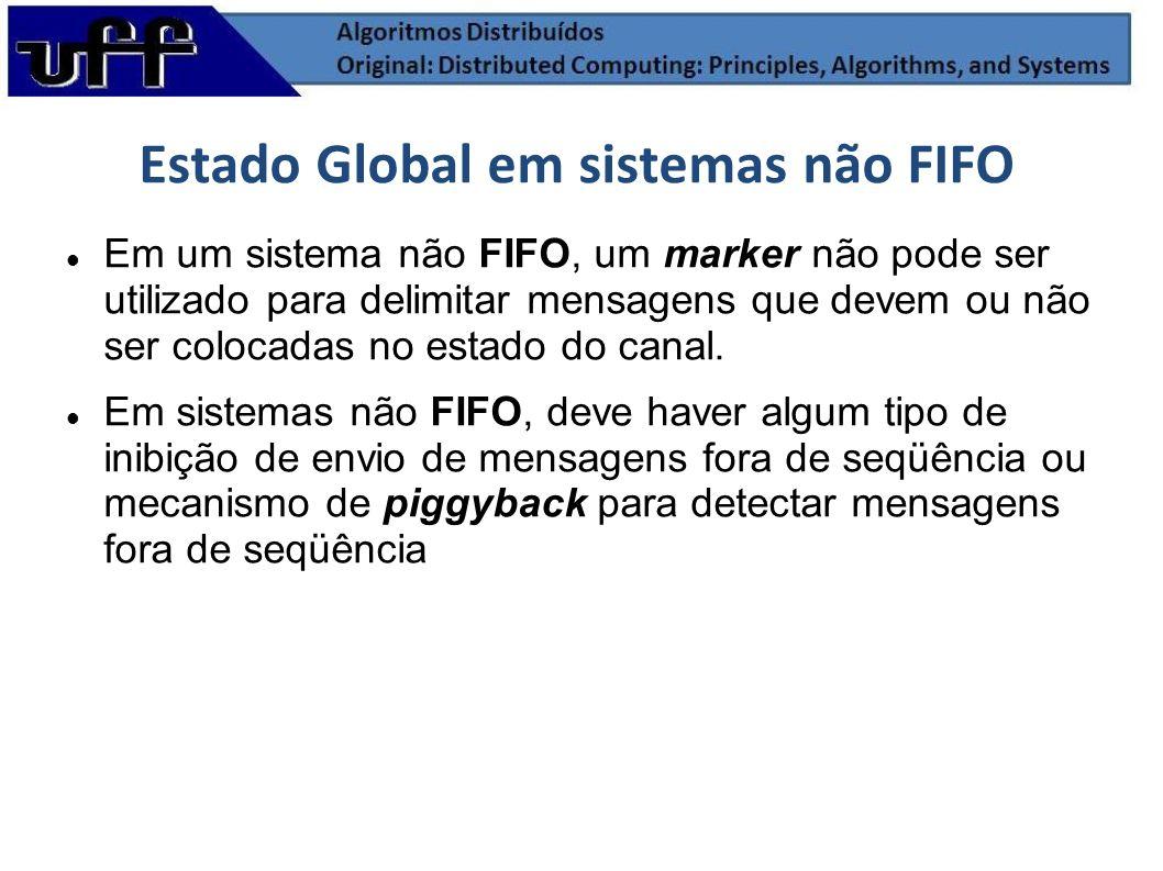 Estado Global em sistemas não FIFO