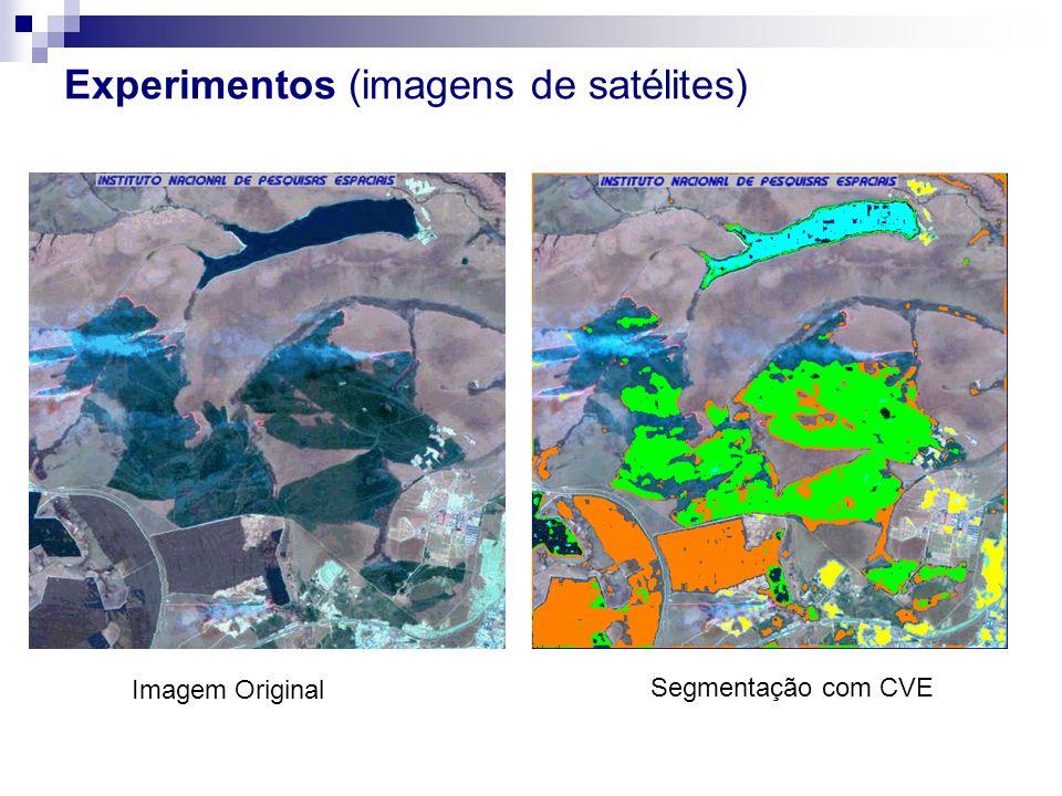 Experimentos (imagens de satélites)