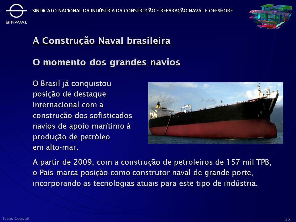 A Construção Naval brasileira O momento dos grandes navios