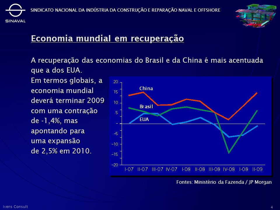 Economia mundial em recuperação