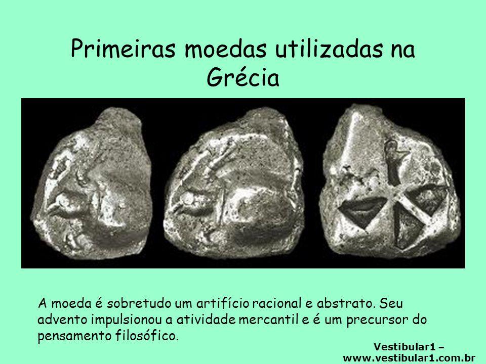 Primeiras moedas utilizadas na Grécia