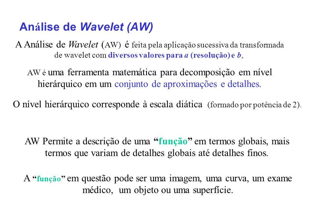 Análise de Wavelet (AW)