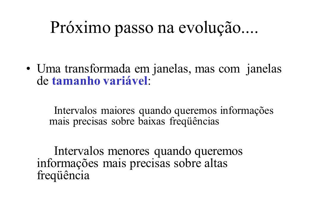 Próximo passo na evolução....