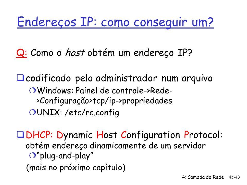 Endereços IP: como conseguir um