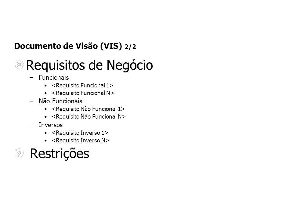 Documento de Visão (VIS) 2/2