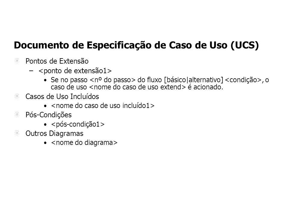 Documento de Especificação de Caso de Uso (UCS)