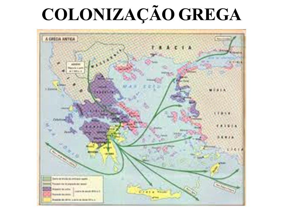 COLONIZAÇÃO GREGA