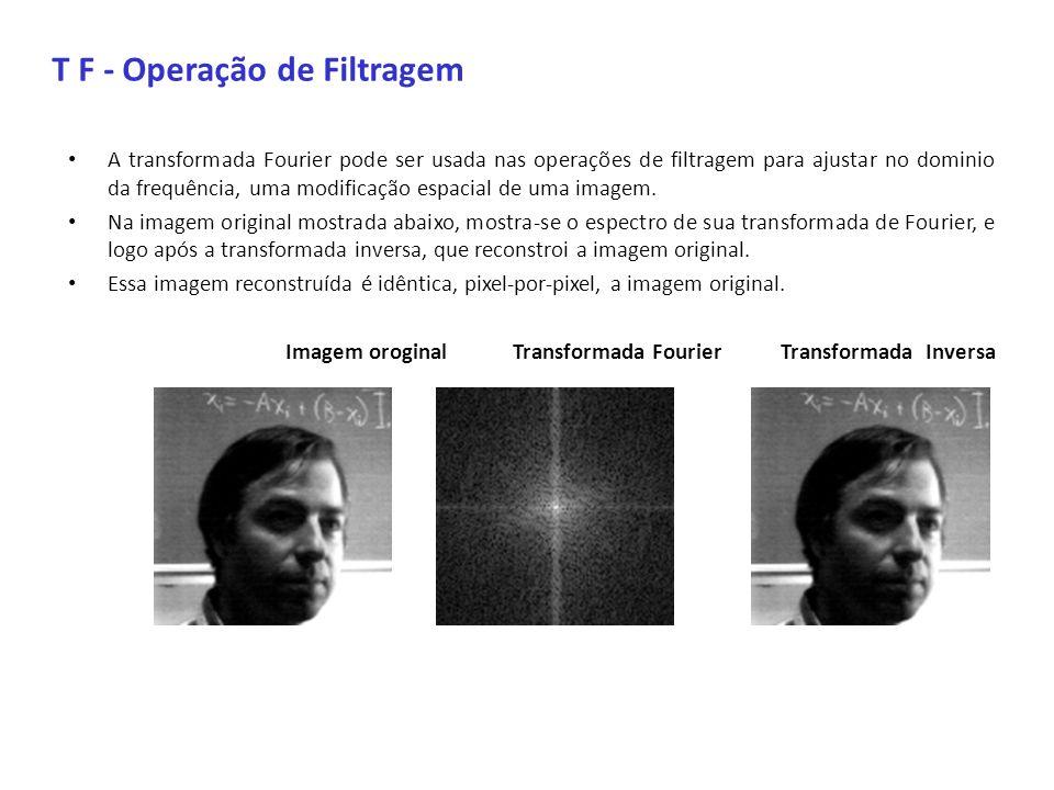 T F - Operação de Filtragem