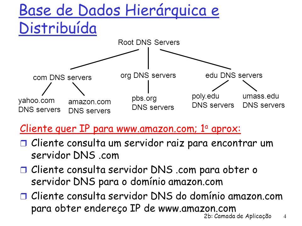 Base de Dados Hierárquica e Distribuída