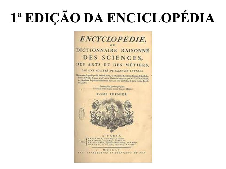 1ª EDIÇÃO DA ENCICLOPÉDIA