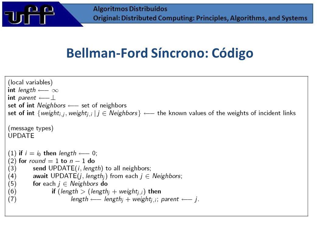 Bellman-Ford Síncrono: Código