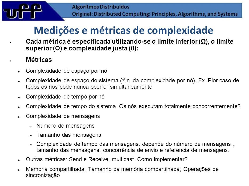 Medições e métricas de complexidade