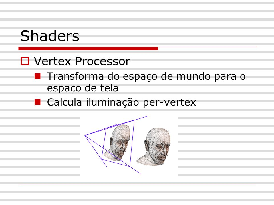Shaders Vertex Processor