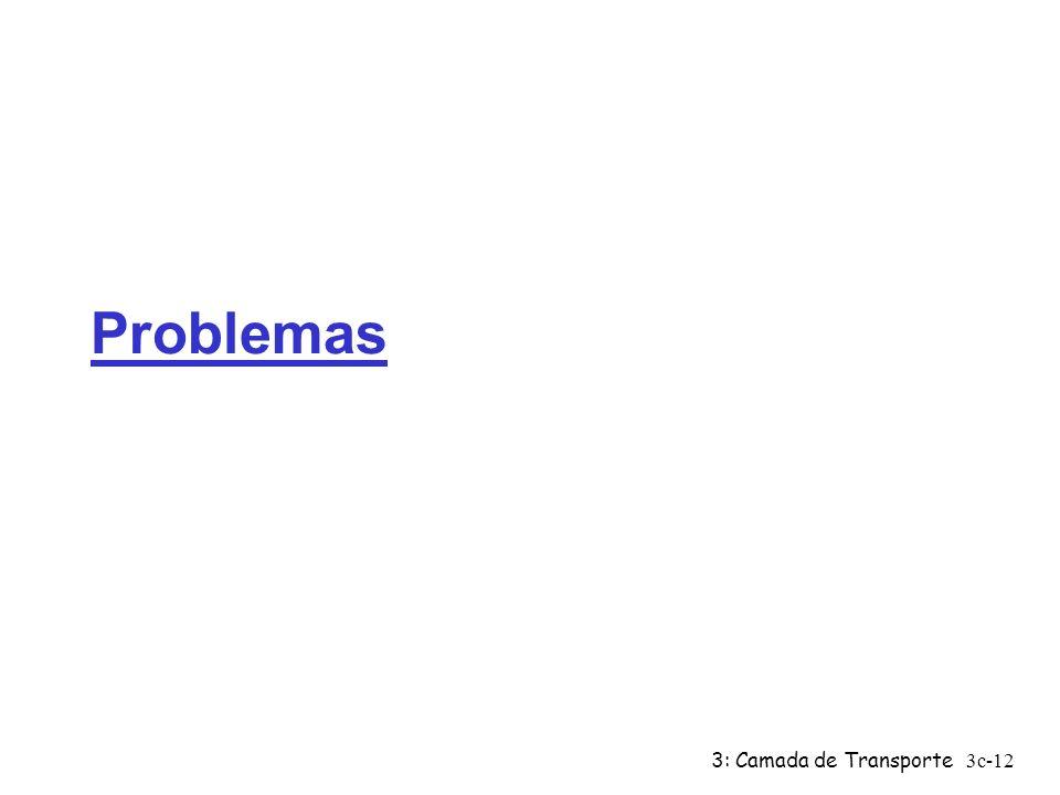 Problemas 3: Camada de Transporte