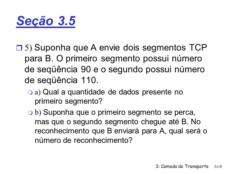 Seção 3.5