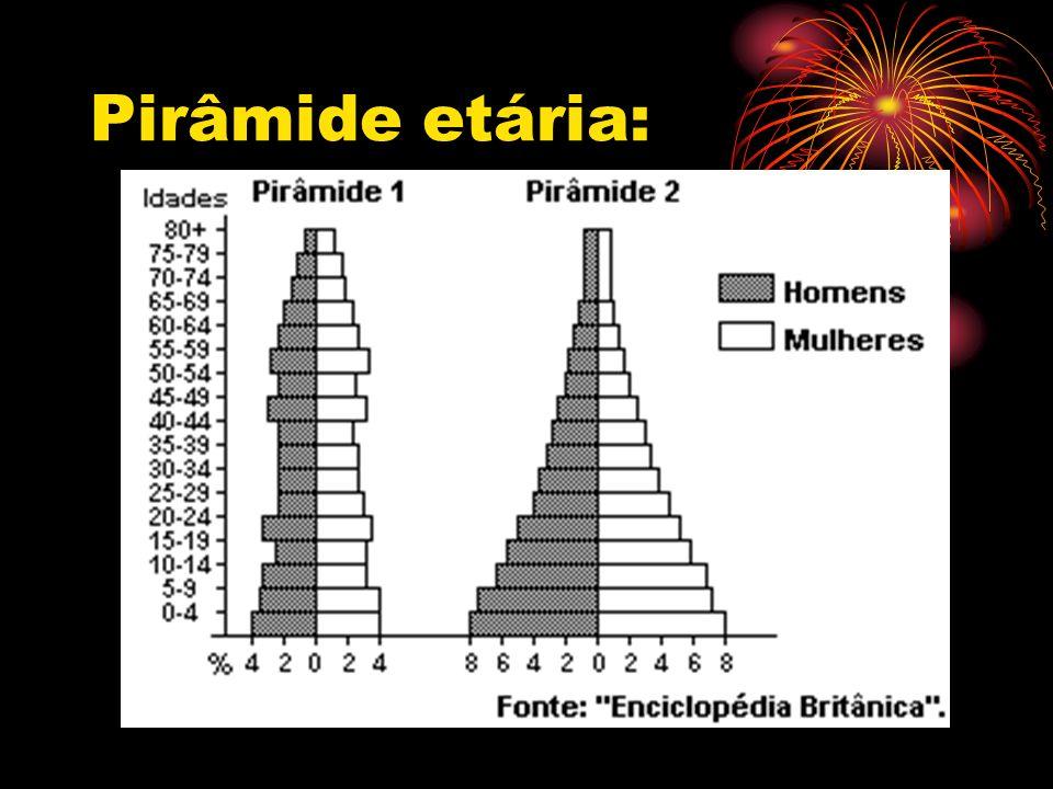 Pirâmide etária:
