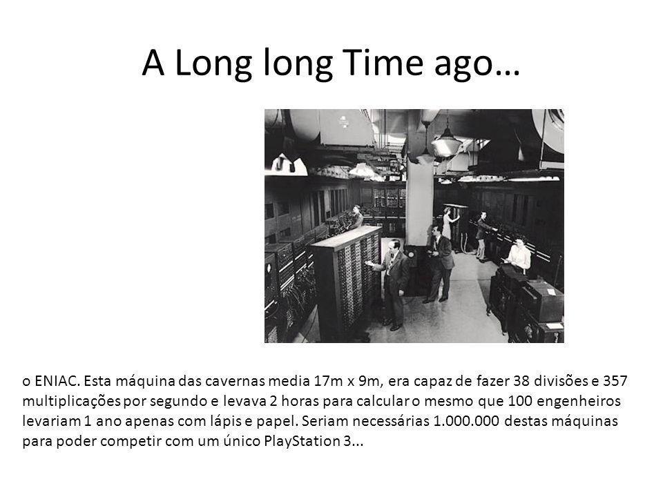 A Long long Time ago…