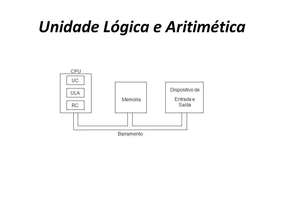Unidade Lógica e Aritimética