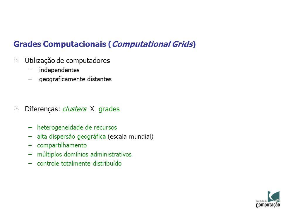 Grades Computacionais (Computational Grids)
