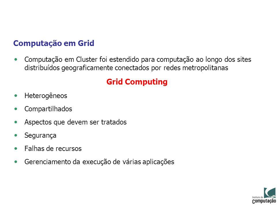 Computação em Grid Grid Computing