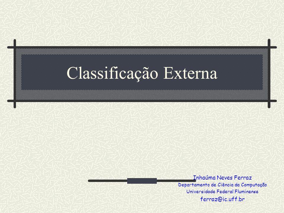 Classificação Externa