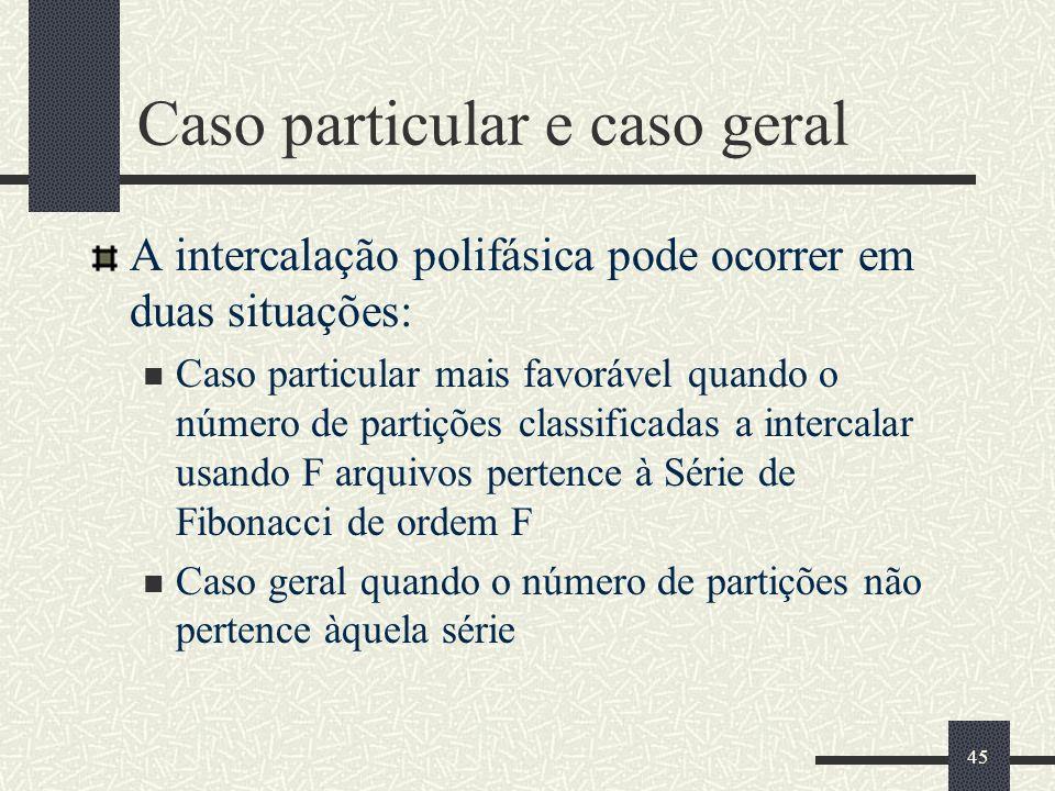 Caso particular e caso geral