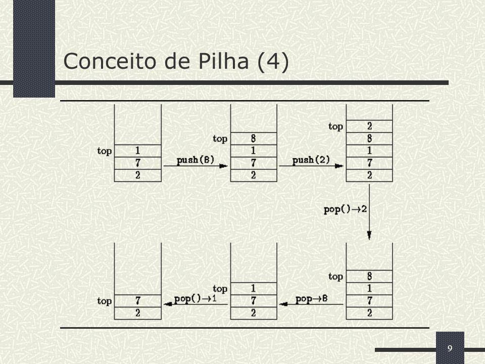 Conceito de Pilha (4)