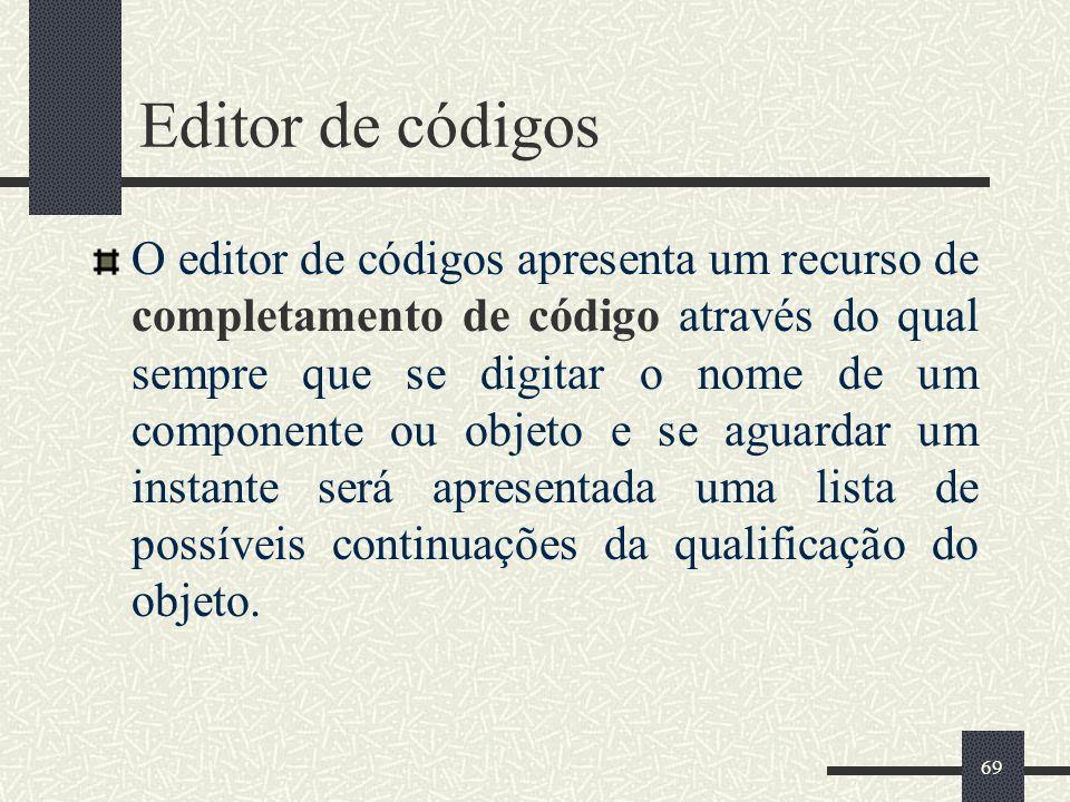 Editor de códigos
