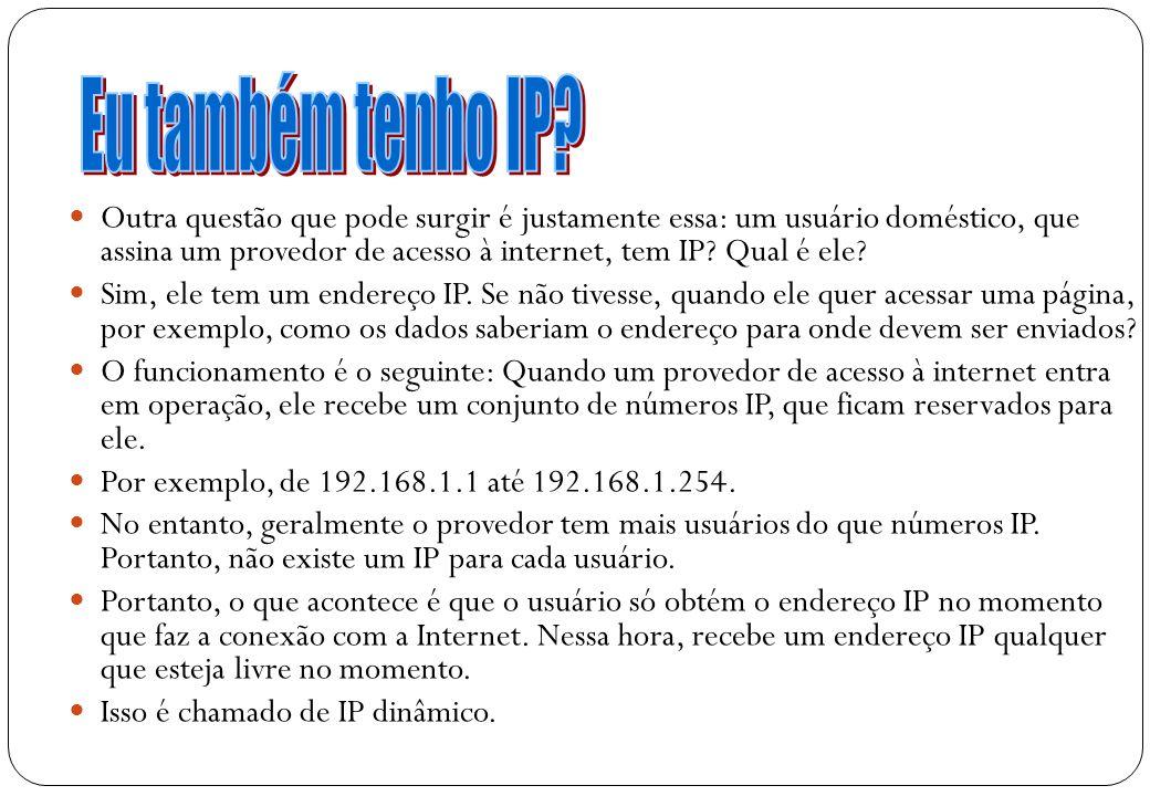 Eu também tenho IP
