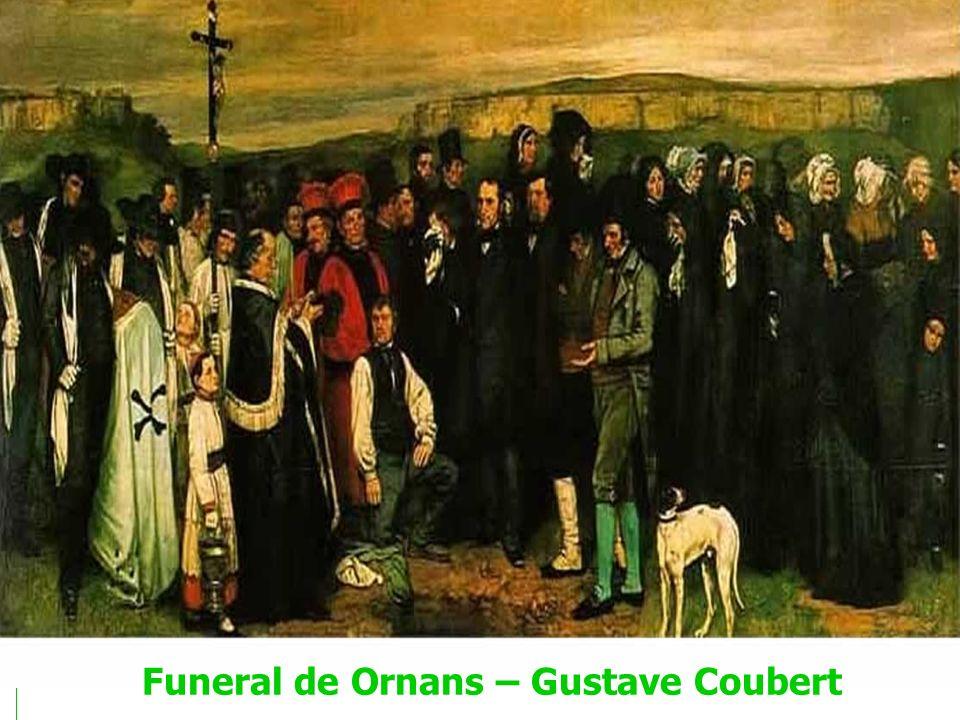 Funeral de Ornans – Gustave Coubert