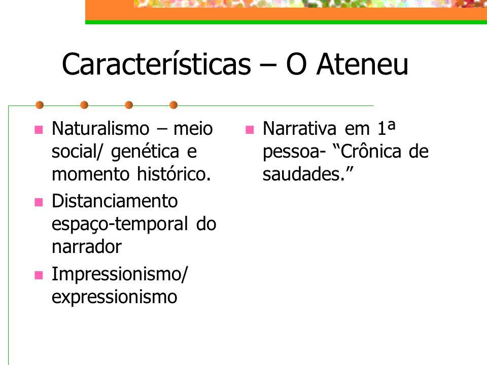 Características – O Ateneu