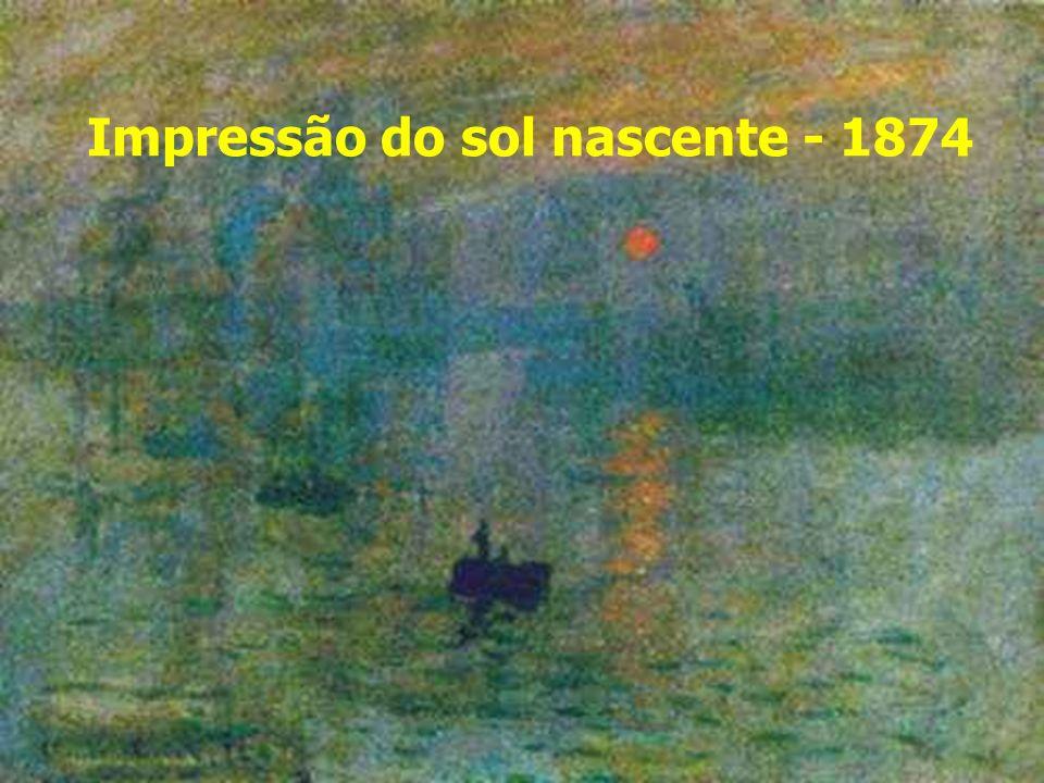 Impressão do sol nascente - 1874