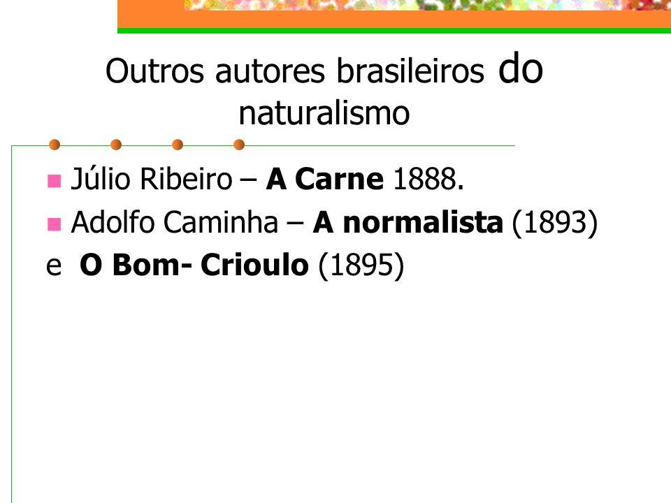 Outros autores brasileiros do naturalismo