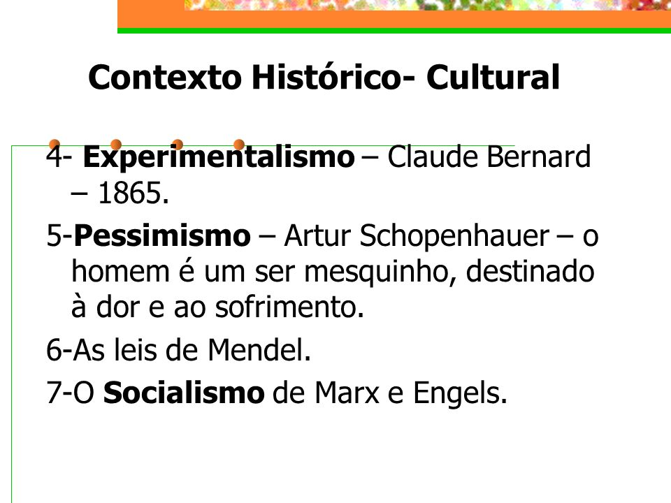 Contexto Histórico- Cultural