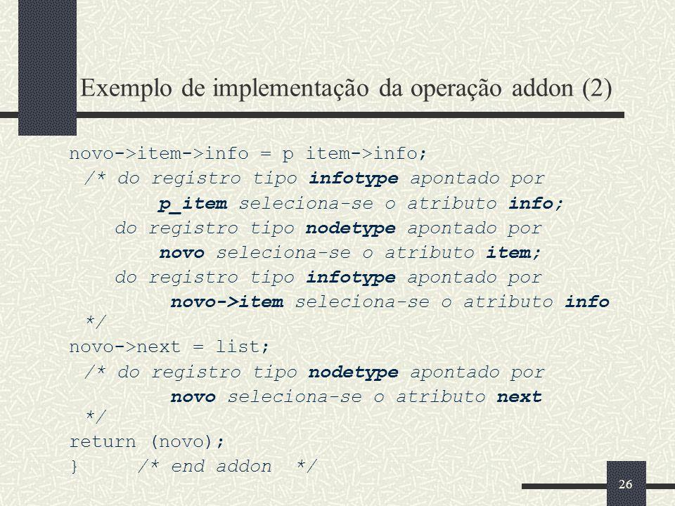 Exemplo de implementação da operação addon (2)