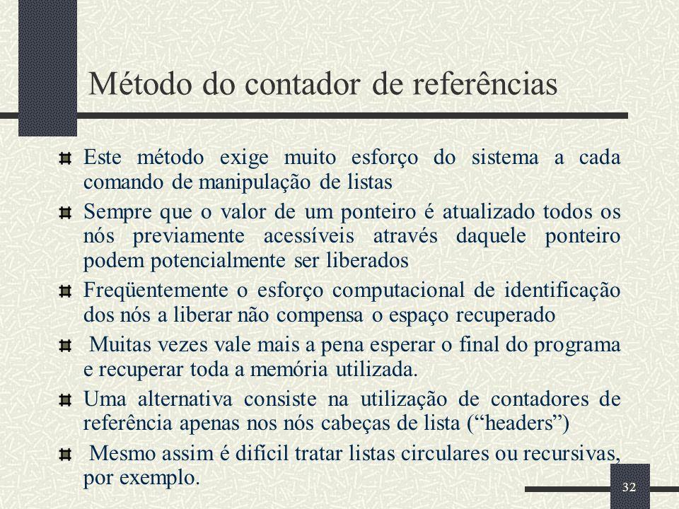 Método do contador de referências
