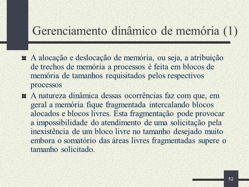 Gerenciamento dinâmico de memória (1)