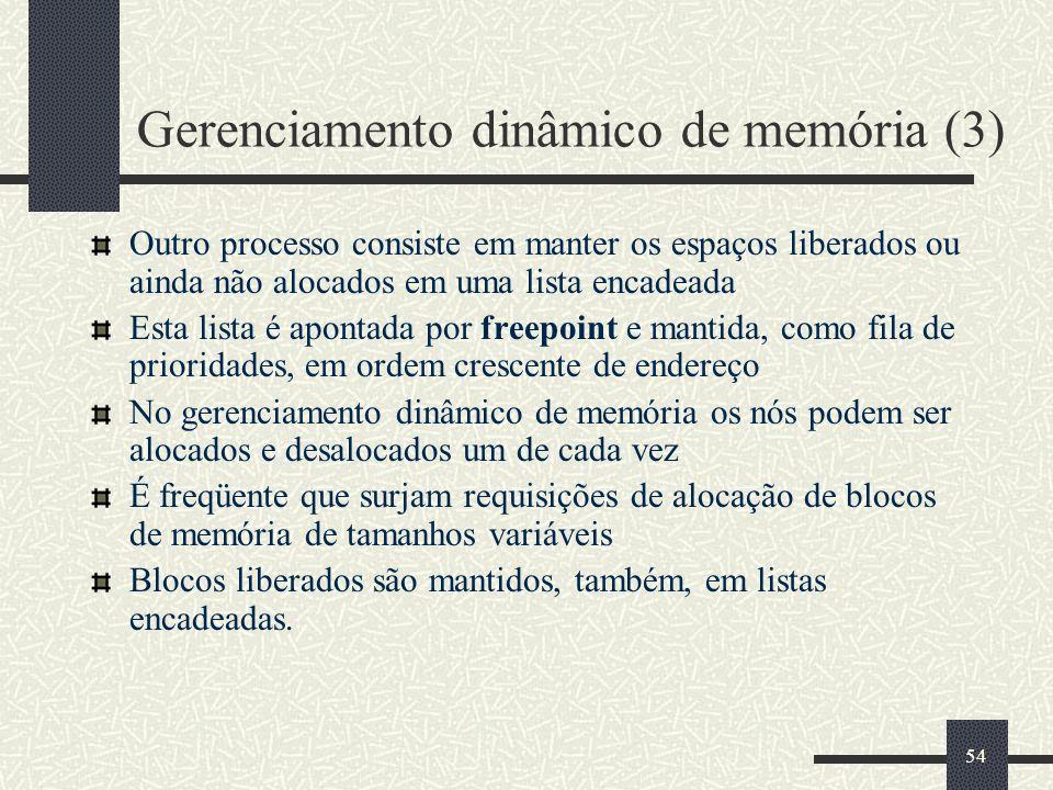 Gerenciamento dinâmico de memória (3)