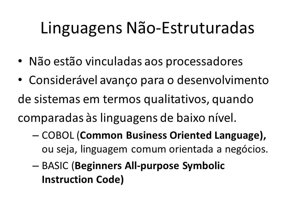 Linguagens Não-Estruturadas