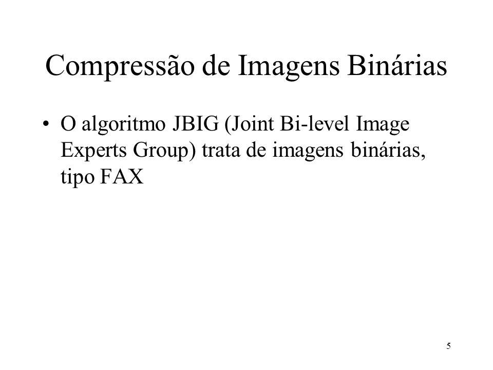 Compressão de Imagens Binárias